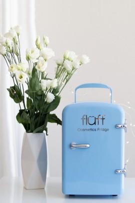 Холодильник для косметики голубой