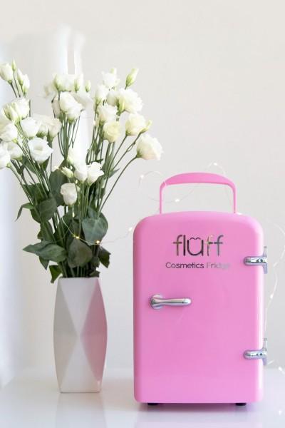 Холодильник для косметики розовый