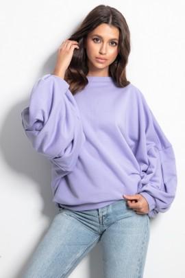 Блуза Fobya F1086 сирень