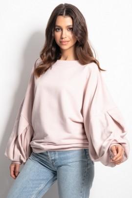 Блуза Fobya F1086 пудра