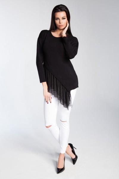 Блузка Fobya f246 чёрный