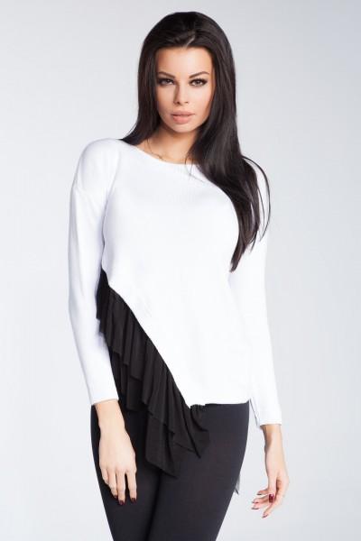 Блузка Fobya f246 белый