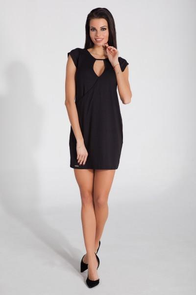 Платье Fobya f277 чёрный