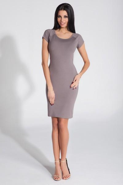Платье Fobya f287 капучино