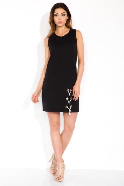Платье Fobya f299 чёрный