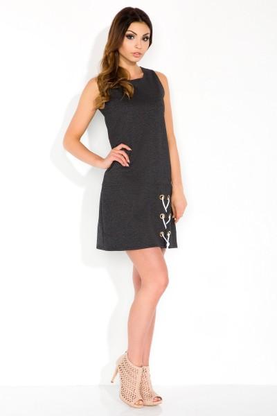 Платье Fobya f299 графит
