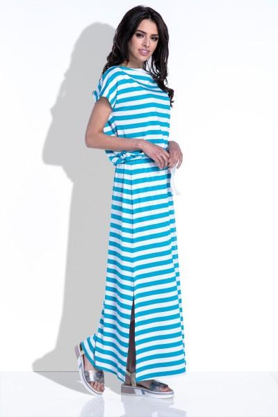 Платье Fobya f310 голубой