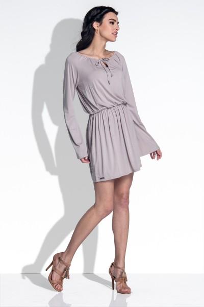 Платье Fobya f389 мокко