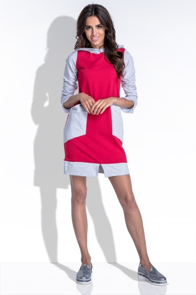 Платье Fobya f436 амарант