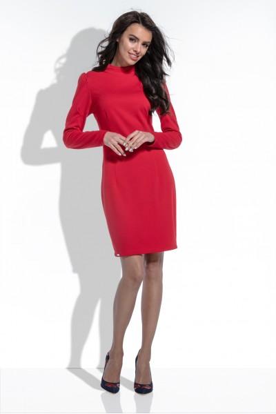 Платье Fobya f461 красный
