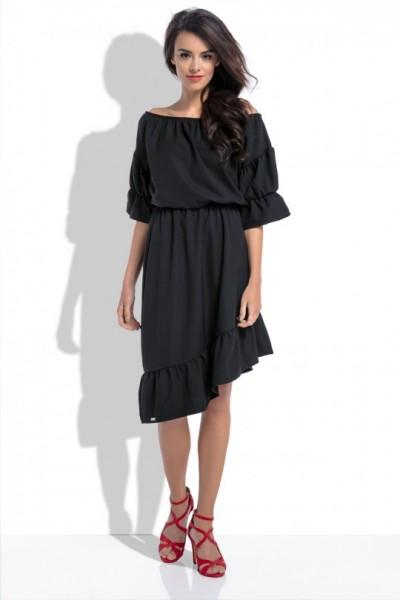 Платье Fobya f527 чёрный