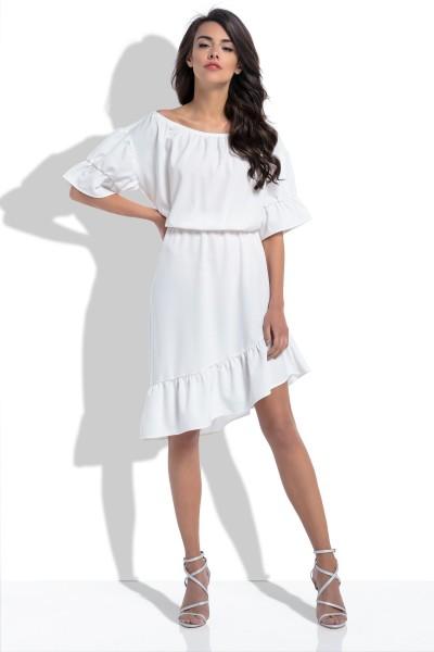 Платье Fobya f527 экрю