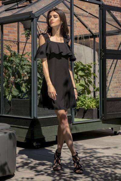 Платье Fobya f536 чёрный