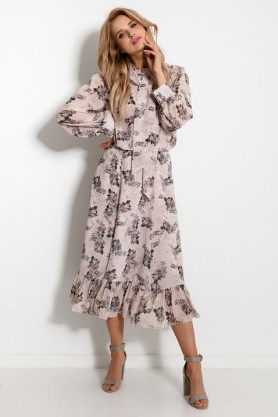 Комплект Fobya f924 романтик (юбка+блузка)