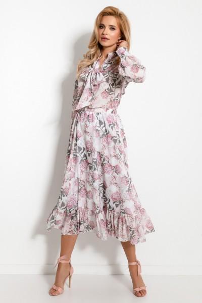 Комплект Fobya f929 романтик (юбка+блузка)