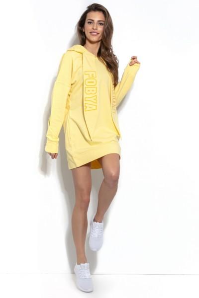 Блуза Fobya f931 лимон хлопок