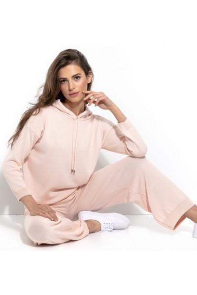 Комплект Fobya f935 пудра (блузка+брюки)