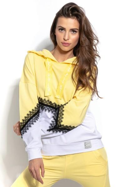 Блуза Fobya f937 лимон хлопок