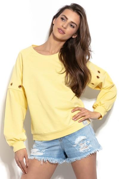 Блуза Fobya f940 лимон хлопок