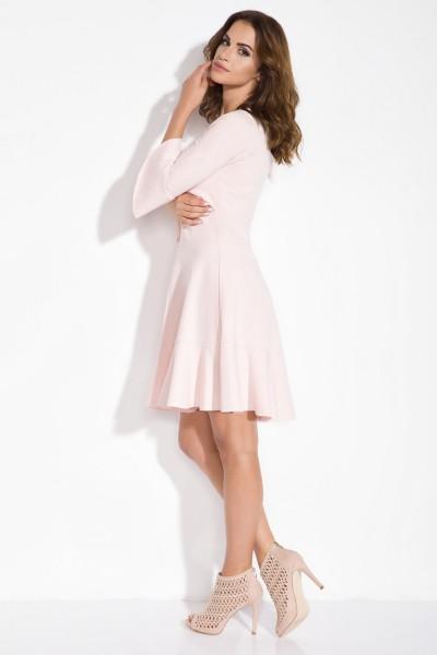 Платье Fimfi i106 пудра