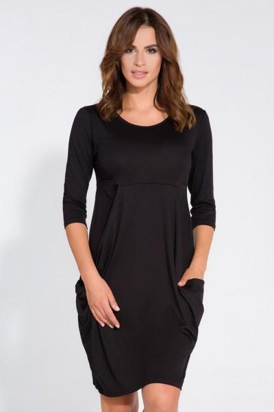 Платье Fimfi i128 чёрный