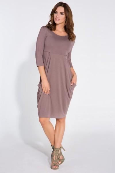 Платье Fimfi i128 капучино