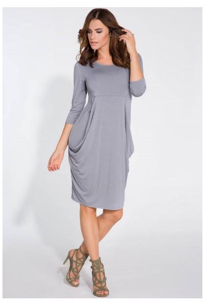 Платье Fimfi i128 серый