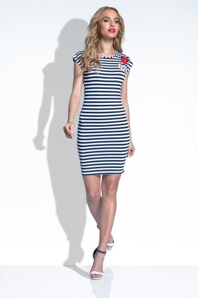 Платье Fimfi i179 тёмно-синий