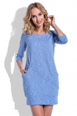 Платье Fimfi i195 голубой