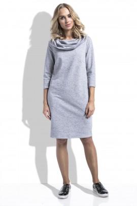 Платье Fimfi i233 серый