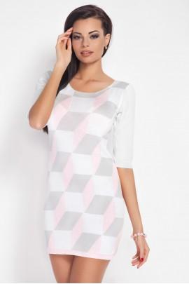 Платье Fobya F188 розовый