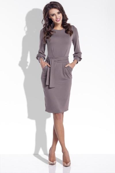 Платье Fobya f334 капучино