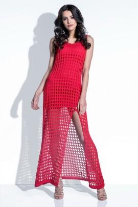 Платье Fobya F397 красный