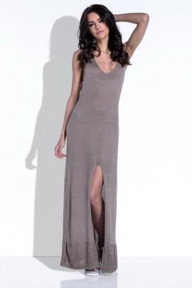 Платье Fobya F417 капучино