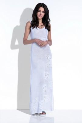 Платье Fobya F418 белый