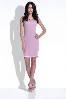 Платье Fobya F419 пудра