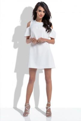 Платье Fobya F535 экрю
