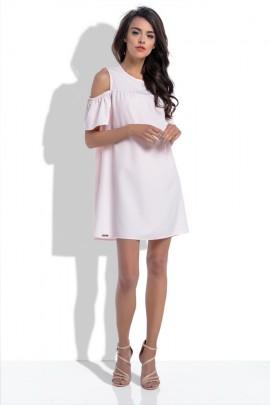 Платье Fobya F535 пудра
