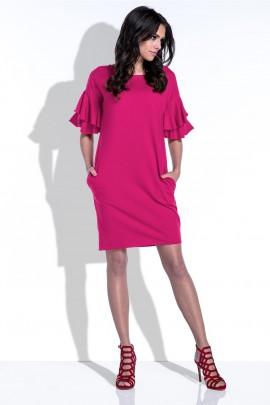 Платье Fobya F415 амарант