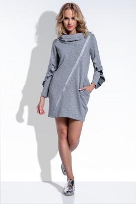 Платье Fimfi i199 серый