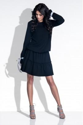 Платье Fobya F372 чёрный