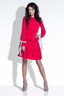 Платье Fobya F372 красный