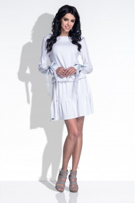 Платье Fobya F372 белый