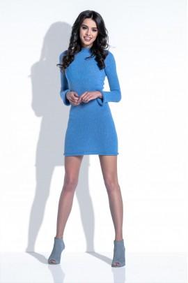 Платье Fobya F395 голубой