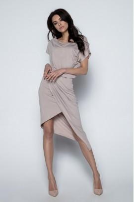 Платье Fobya F499 мокко
