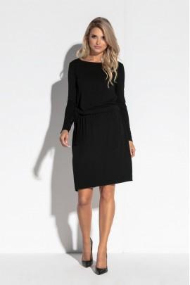 Платье Fobya F563 чёрный