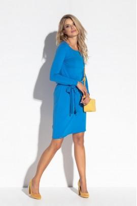 Платье Fobya F563 туманно-голубой