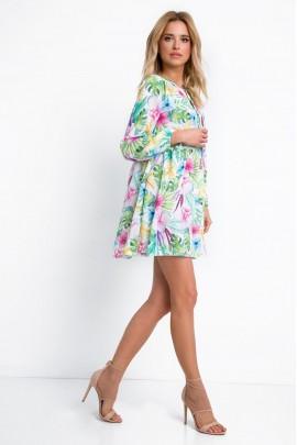 Платье Fobya F667 тропикана