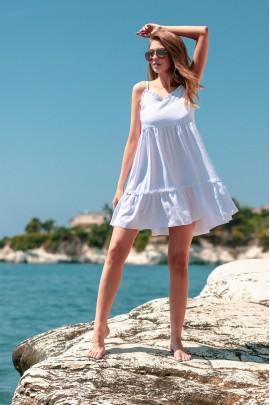 Платье Fobya F735 белый