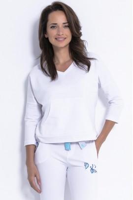 Блуза Fobya F872 белый